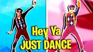 Hey Ya Blindfolded | Just Dance 2018