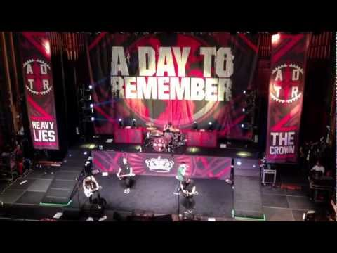 A Day to Remember- Right Back at it Again *NEW SONG* (live ... A Day To Remember Right Back At It Again