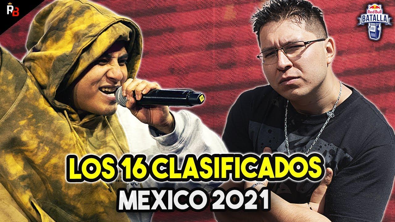 LOS 16 CLASIFICADOS a RED BULL MÉXICO 2021