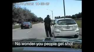 Angry School Zone Speeder Tells Palm Beach Cop