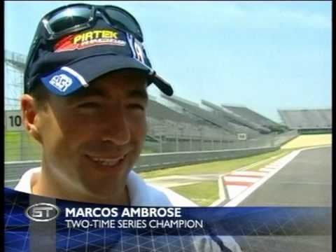 V8 Supercars Shanghai 2005 - Sports tonight clip