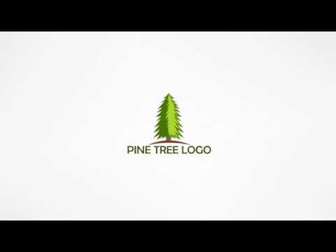 How to Make Pine Tree logo in corel Draw