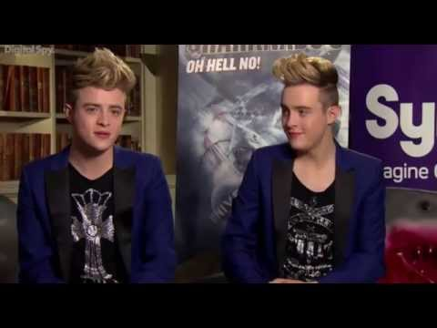 Digital Spy - 60 Seconds interview with Jedward