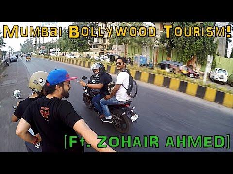 MUMBAI Travel Guide! BIKERS Edition Ft. ZOHAIR AHMED | BOLLYWOOD CELEBRITY HOUSES BANDRA | DHARAVI