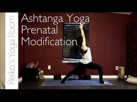 Ashtanga Yoga Prenatal Modifications