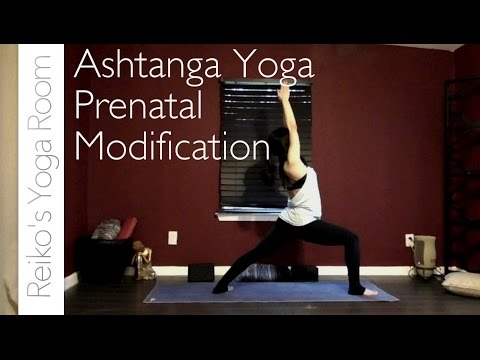 Ashtanga Yoga Prenatal Modifications