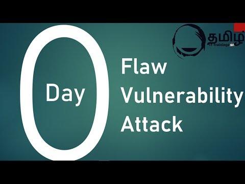 Zero Day Vulnerability   Tamil   IT Training's Tamil