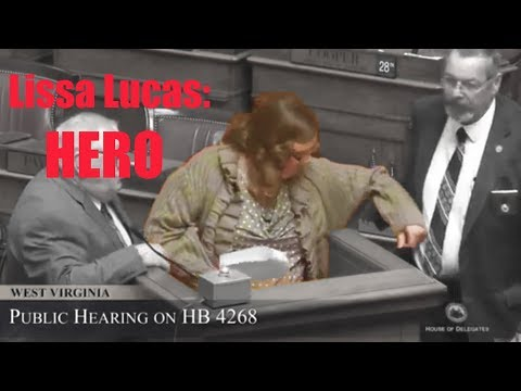 Lissa Lucas: HERO who stood up to special interests