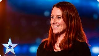 Anna Klinge puts her best foot forward | Auditions Week 5 | Britain's Got Talent 2016
