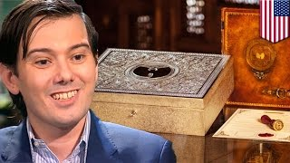 Wu-Tang Clan secret album, Once Upon A Time In Shaolin, bought by Martin Shkreli - TomoNews
