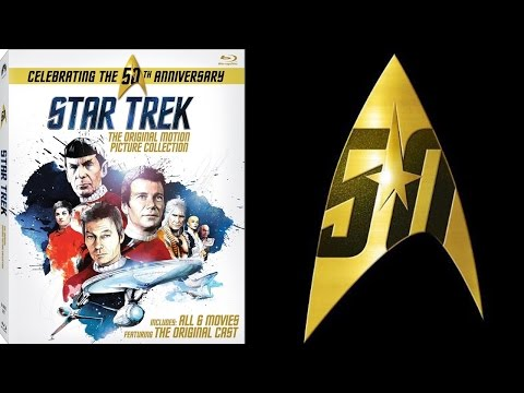 Star Trek: Original Motion Picture 50th Anniversary Collection (Blu-Ray)