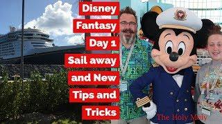Disney Fantasy 2018 | Tips and Tricks | Oversized Balcony | State Room 5660