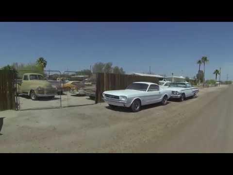 Traveling Virgins' first drive through Tacna, Arizona, 21 May 2016, Right Rear View, GP043162