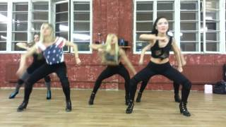 Tinashe 2 on / high heels choreography/ lady style