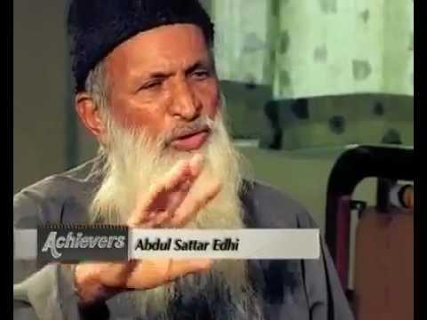 Abdul sattar edhi essays