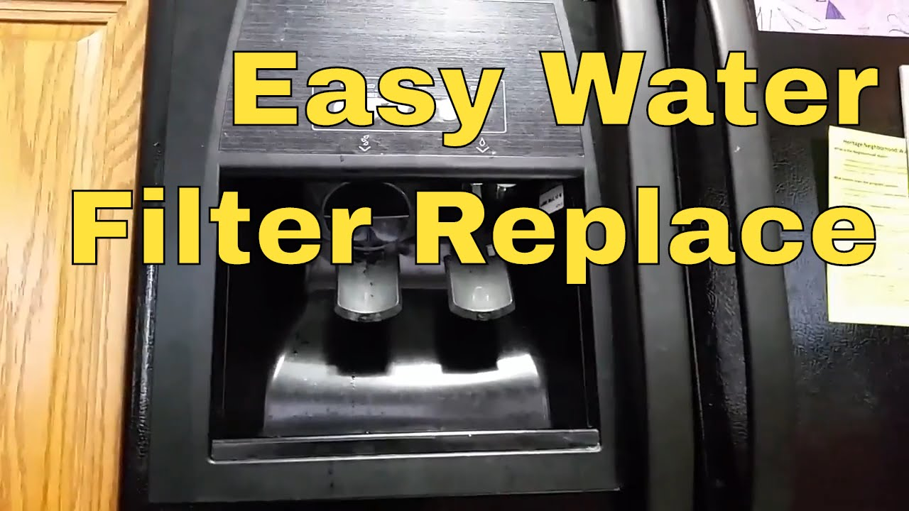 How to Replace Whirlpool Refrigerator Water Filter