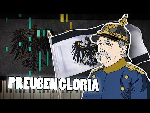 Synthesia: Preußens Gloria (Prussia Glory March)   Piano Tutorial