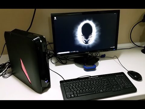 Alienware X51 R3 Unboxing and First Impressions