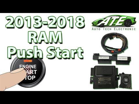 NEW Push Start Keyless Go RAM Kit Pt.1: 2013, 2014, 2015, 2016, 2017, 2018, 2019