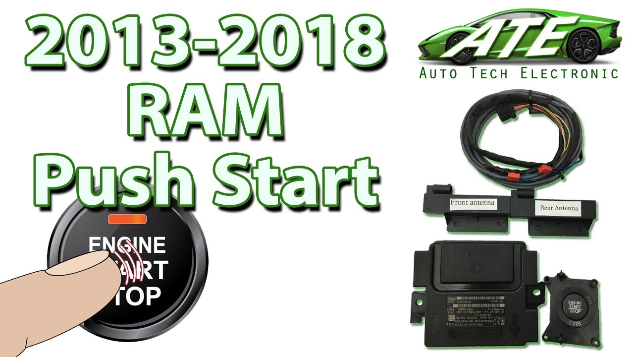 NEW Push Start Keyless Go RAM Kit Pt.1: 2013, 2014, 2015 ...
