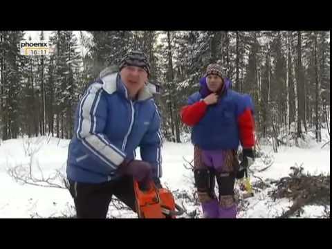 Wintermärchen auf Gleisen   Unterwegs mit dem Skizug von Novosibirsk Dokumentation deutsch Teil 2