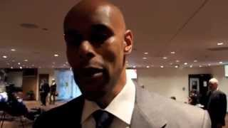 RONALD MACINTOSH TACTICAL BREAKDOWN OF CARL FROCH v GEORGE GROVES 2 @ PRESS CONFERENCE / iFL TV