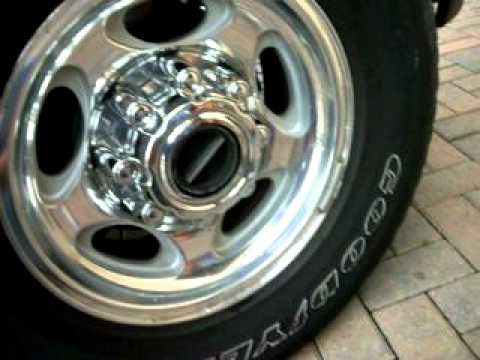 Excursion removing center cap & tire