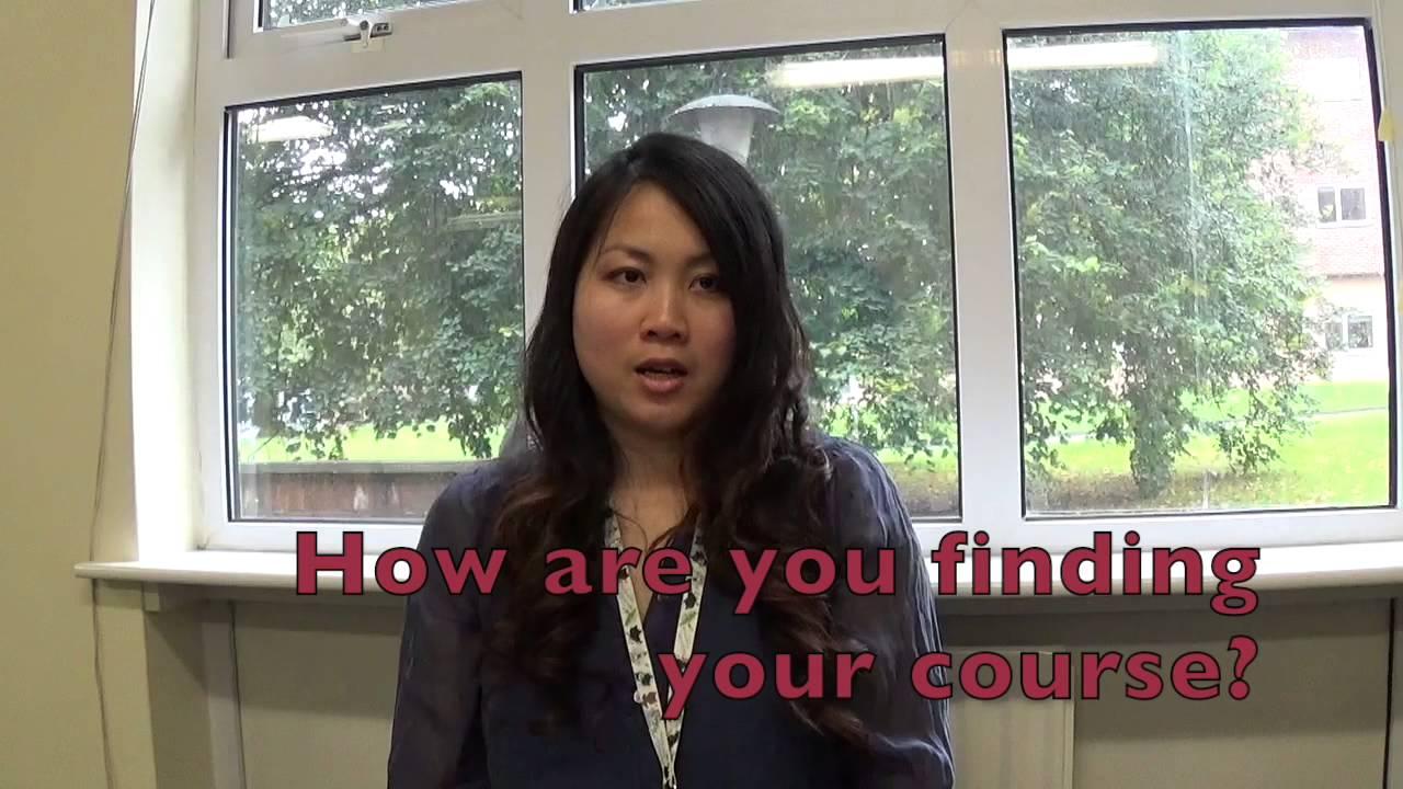 Mature student interview