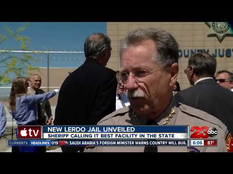 New Lerdo justice facility unveiled - YouTube