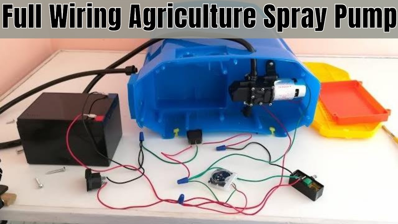 Agriculture Spray Pump Wiring on