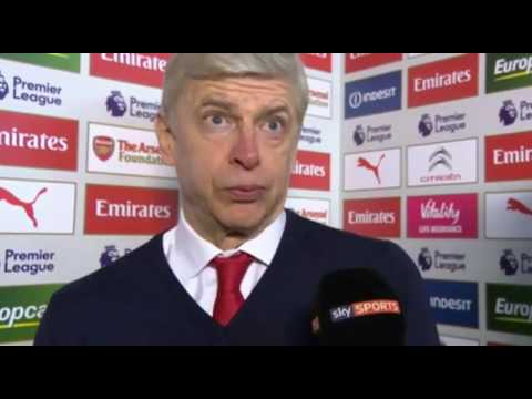 Arsenal 2 - 1 Burnley- Arsene Wenger And Sean Dyche Post Match Interview