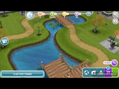 The Sims Freeplay – DIY Homes : Peaceful Patio / Talk To Bree
