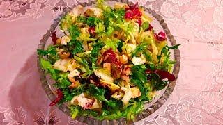 Салат витаминный с фетой