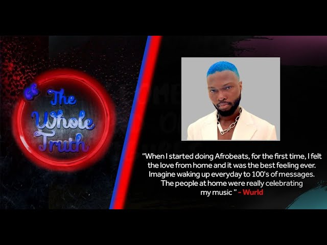 The Whole Truth- Wurld talks transitioning to Afrobeats, his new EP, working with Sarz and Shizzi.
