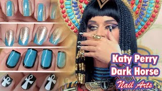 Tutorial Katy Perry - Dark Horse (Nail Art)