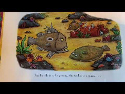 Tiddler the story telling fish...