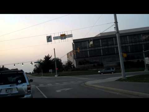Time Lapse: Driving through Bloomington, Indiana