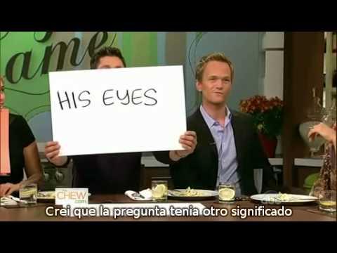 Neil Patrick Harris y David Burtka en The Chew (Subtitulado Español)