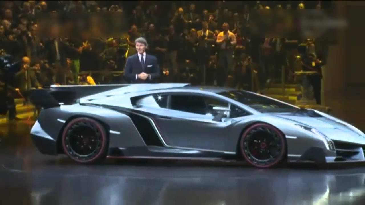 4 5 Million Dollar Lamborghini Veneno Youtube