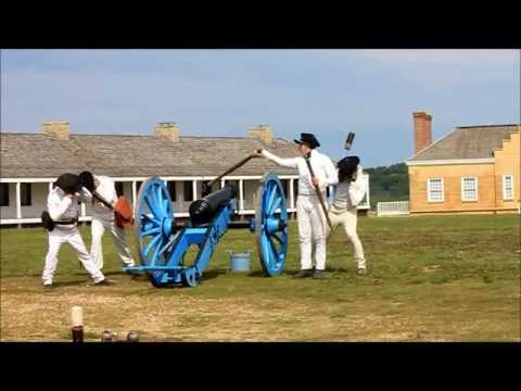 Cannon Firing - Fort Snelling