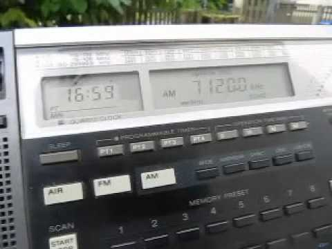 Radio Hargeisa 7120 kHz from Somaliland received in Germany