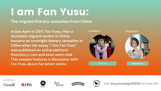 I am Fan Yusu: The Domestic Migrant Worker Experience in China