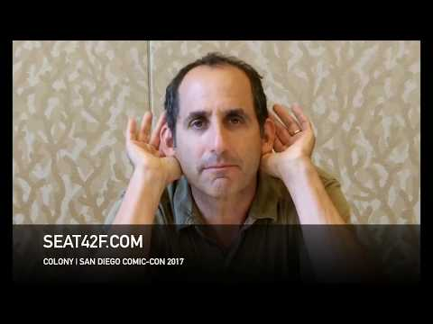 Peter Jacobson COLONY Interview Comic Con HD