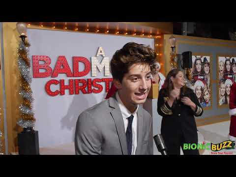 Milo Manheim  at A Bad Moms Xmas World Premiere