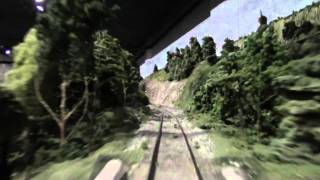 Model Railroad Club of Toronto - O scale Central Ontario Railway - Engineer's view northbound