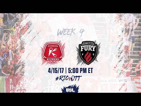USL LIVE - Richmond Kickers vs Ottawa Fury FC 4/15/17