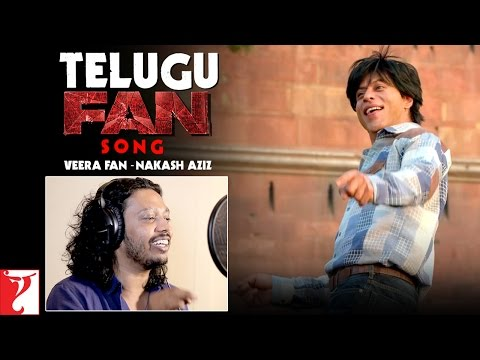 Telugu FAN Song Anthem | Veera Fan - Nakash Aziz | Shah Rukh Khan | #FanAnthem