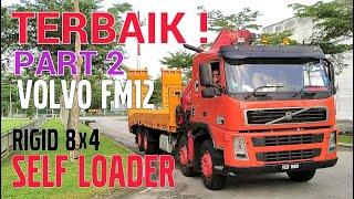 (RARE) SELF LOADER VOLVO FM12 RIGID INTERIOR