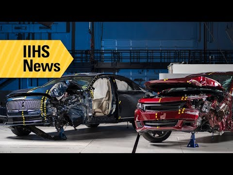 Three large cars join ranks of TOP SAFETY PICK+ winners - IIHS News