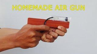 Homemade Air Gun | How to make Air Gun at home Simple & Powerful | By Mr KC Channel